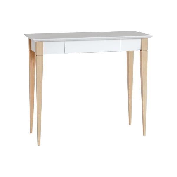 Mimo fehér íróasztal, szélesség 85 cm - Ragaba
