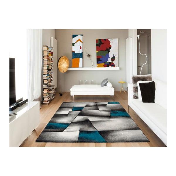 Malmo kékesszürke szőnyeg, 140x200cm - Universal