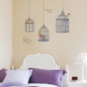 Birds In Cage falmatrica szett - Ambiance