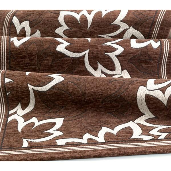 Maple Marrone barna fokozottan ellenálló konyhai futószőnyeg, 55 x 140 cm - Floorita