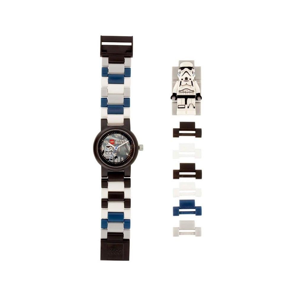 Star Wars Stormtrooper fekete-fehér karóra - LEGO®  0478db91e2
