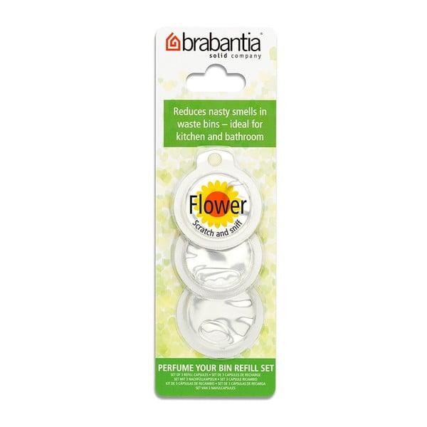 Perfume Your Bin Flowers 3 darabos illatosító szett szemeteskosárba - Brabantia