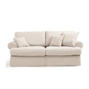 Hermine krémszínű háromszemélyes kanapé - Max Winzer