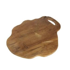 Flate teakfa vágódeszka, hossza 49 cm - HSM collection