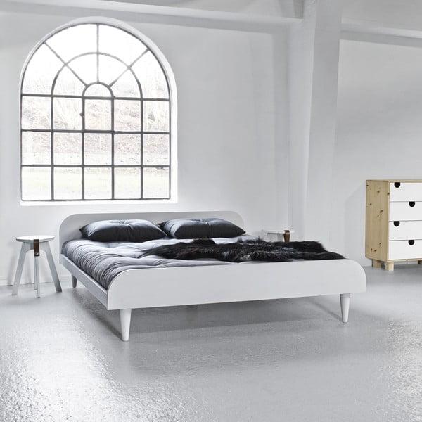 Twist White ágy, 160 x 200 cm - Karup Design