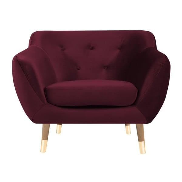 Amelie burgundi vörös fotel - Mazzini Sofas