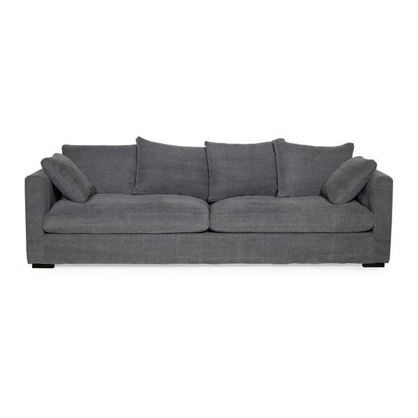 Comfy grafitszürke háromszemélyes kanapé - Softnord