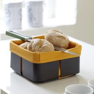 Roma fekete-narancssárga kenyérkosár - Steel Function