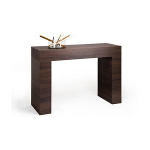 Evolution konzolasztal sötét tölgy dekor kivitelben - MobiliFiver