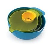 Nest Mix 3 részes keverőtál szett tojássárga elválasztóval - Joseph Joseph