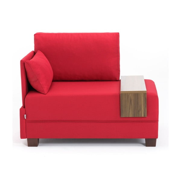 Home Martha piros fotel bal oldali kartámasszal és tartóval - Balcab