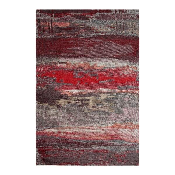 Red Abstract szőnyeg, 80 x 150 cm - Eco Rugs