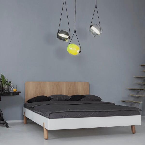 Mamma ágy fa ágytámlával, 180 x 200 cm - Jitona