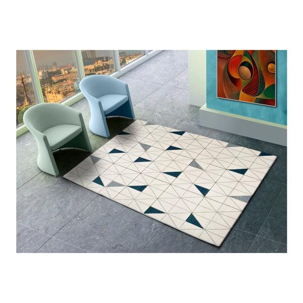 Shuffle fehér szőnyeg, 200x290 cm - Universal
