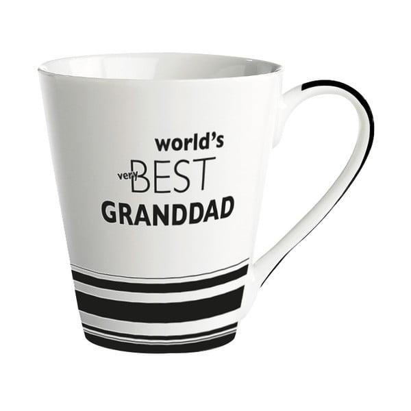 World's Best Granddad porcelán bögre, 300 ml - KJ Collection