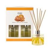 Illatpálcák narancs és ámbra illatban, 40 ml - Copenhagen Candles