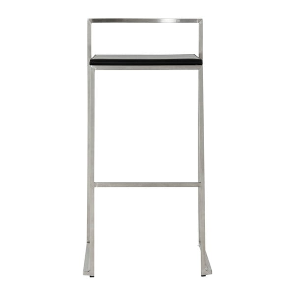 Meto bárszék fekete üléssel, ülésmagassága 74 cm - Kokoon
