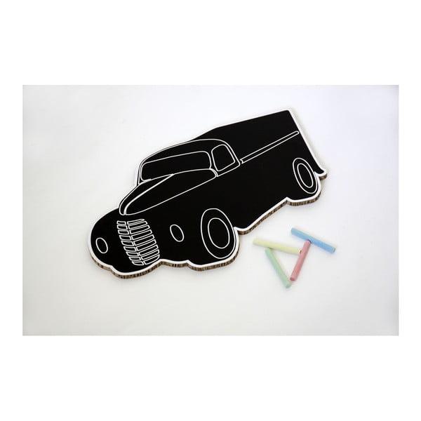 Krétával írható tábla, teherautó alakú - Unlimited Design for kids
