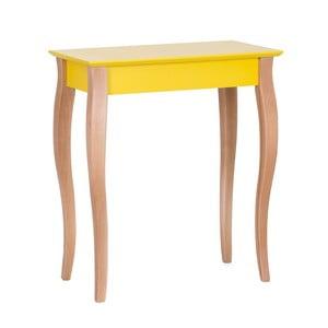 Console sárga kisasztal, hossza 65 cm - Ragaba