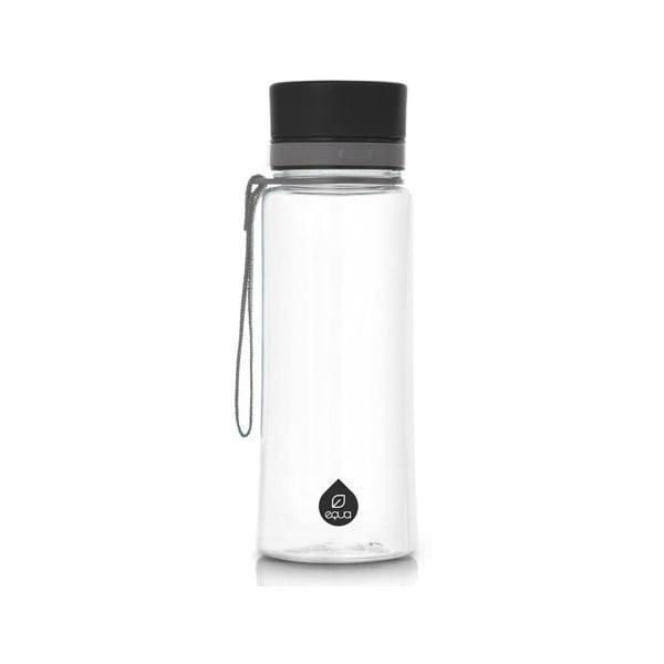 Plain Black műanyag palack, 0,4 l - Equa