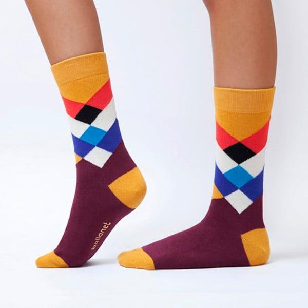 Diamond zokni, méret: 36 – 40 - Ballonet Socks