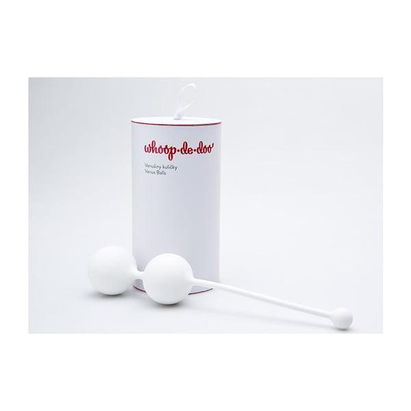 Light stílusos fehér gésagolyók, 41 g - Whoop.de.doo