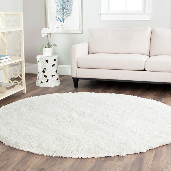 Crosby White szőnyeg, ø 121 cm - Safavieh