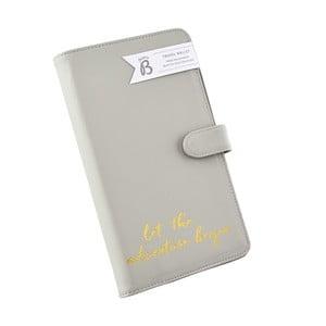 Bézs úti pénztárca iratokhoz - Busy B