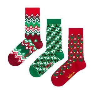 Christmas ajándék zokniszett, méret: 36 – 40 - Ballonet Socks