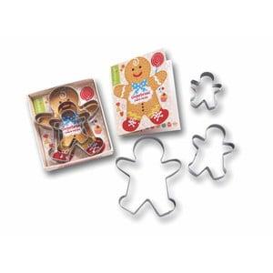 Gingerbread 3 db-os süteményvágó készlet - Cooksmart ®