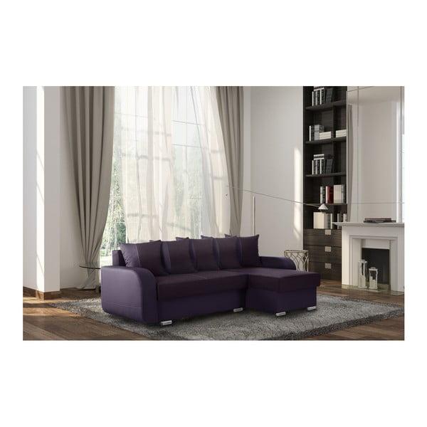 Destin szilvalila kanapé, jobb oldalas - Interieur De Famille Paris