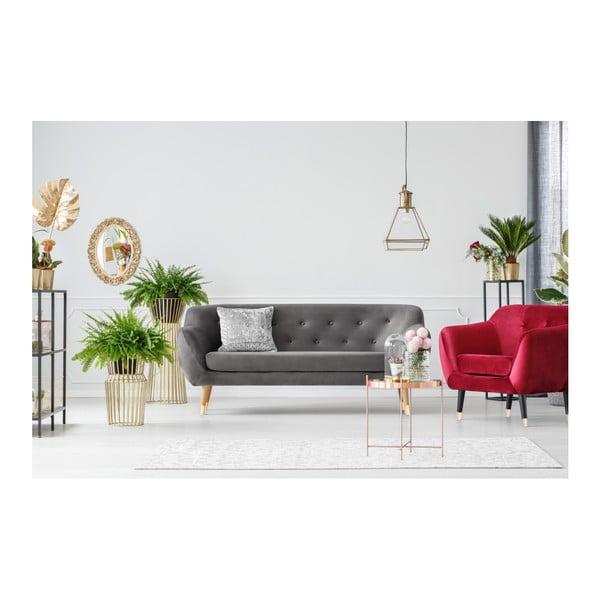 Amelie szürke 3 személyes kanapé - Mazzini Sofas