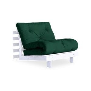 Roots White/Forest Green variálható fotel - Karup Design