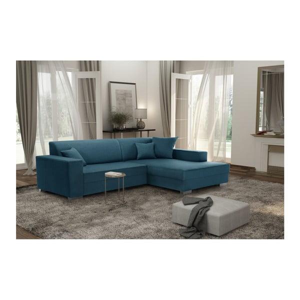 Perle türkizkék kanapé, jobb oldal - Interieur De Famille Paris