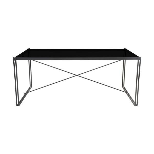 Line fekete étkezőasztal - RGE