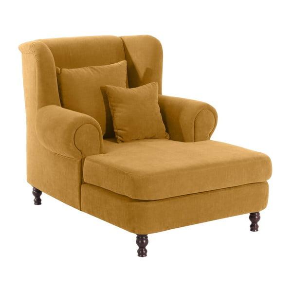 Mareille sárga füles fotel - Max Winzer