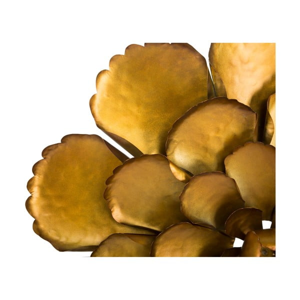 Fiore aranyszínű fali dekoráció, ø 64 cm - Mauro Ferretti