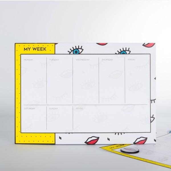 Wink heti tervező - Just Mustard