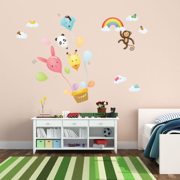 Ballons And Funny Monkey falmatrica - Ambiance