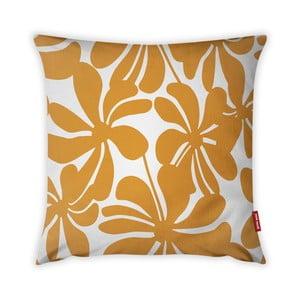 Oranžovo-bílý povlak na polštář Vitaus Jungle Paradiso, 43 x 43 cm