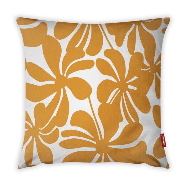 Jungle Paradiso narancssárga-fehér párnahuzat, 43 x 43 cm - Vitaus