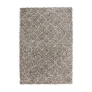 Grace Grey Rose szürke szőnyeg, 160 x 230cm - Mint Rugs