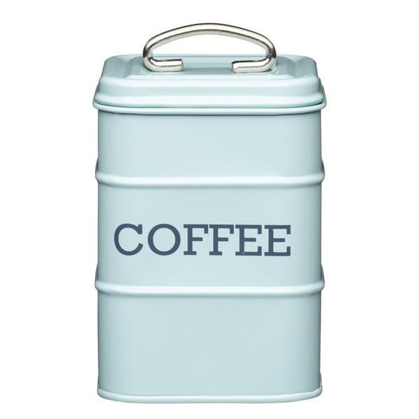 Nostalgia kék kávétartó fémdoboz - Kitchen Craft