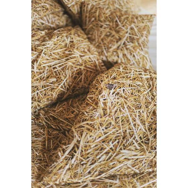 Szalma pamutkeverék párnahuzat, 50 x 60 cm - Foonka