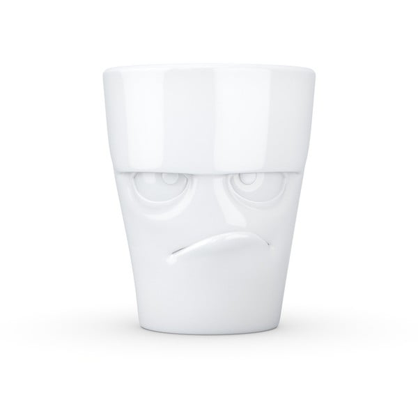 Fehér 'mérges' porcelánbögre - 58products