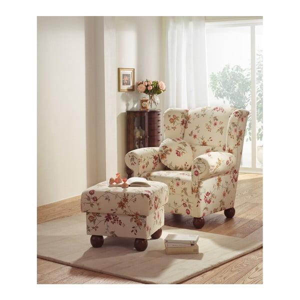 Monarch mintás füles fotel - Max Winzer