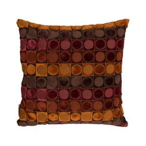 Ottava piros-narancs díszpárna, 45 x 45 cm - Dutchbone