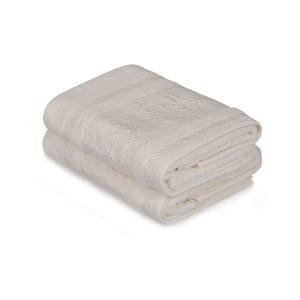 Yosemine fehér törölköző, 2 darabos szett