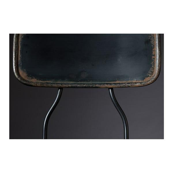 Ovid fekete fém bárszék, magassága 88 cm - Dutchbone