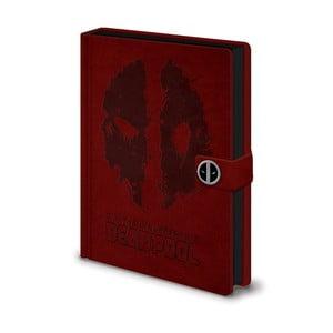 Deadpool jegyzetfüzet, A5, 120 oldal - Pyramid International